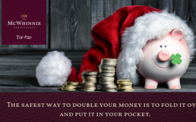 Countdown to Christmas Tip #20 – Finance