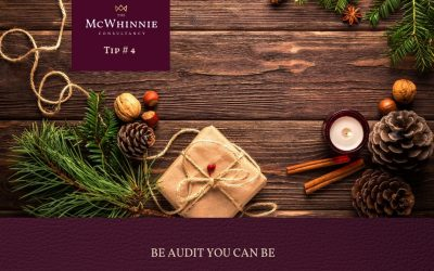 Countdown to Christmas Tip #4 – Be audit you can be!