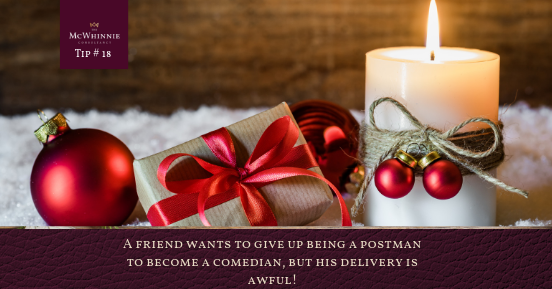Countdown to Christmas Tip #18 – Delivery Service Terms