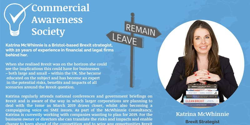 Brexit Workshop – Commercial Awareness Society – Wednesday 20th February