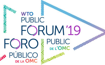 Day Two of WTO Public Forum 2019 – Geneva